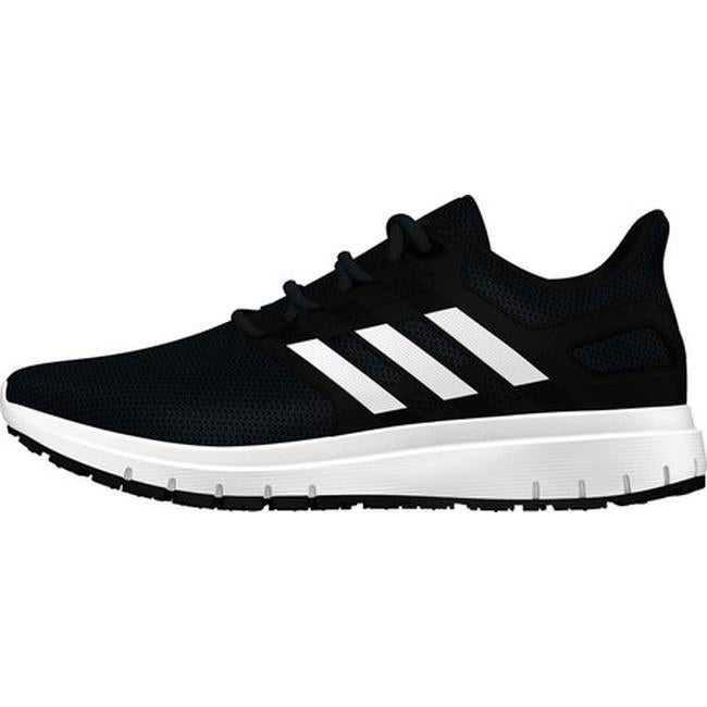 31a1b7b4904 Shop adidas Men s Energy Cloud 2-Tone Knit Mesh Running Shoe Core Black FTWR  White Carbon S18 - On Sale - Free Shipping Today - Overstock - 23558700
