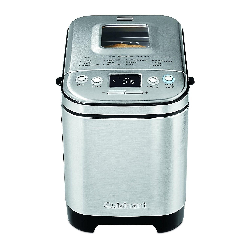 Shop Cuisinart CBK-110 Compact Automatic Bread Maker, Silver - Free ...
