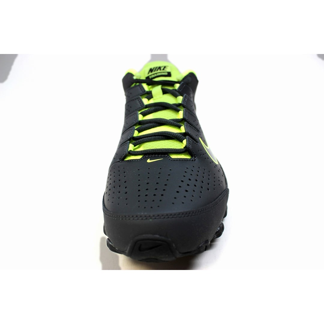 the latest dea9b 75c71 Shop Nike Men s Reax 8 TR Anthracite Black-Volt 616272-036 - Free Shipping  Today - Overstock - 20129328
