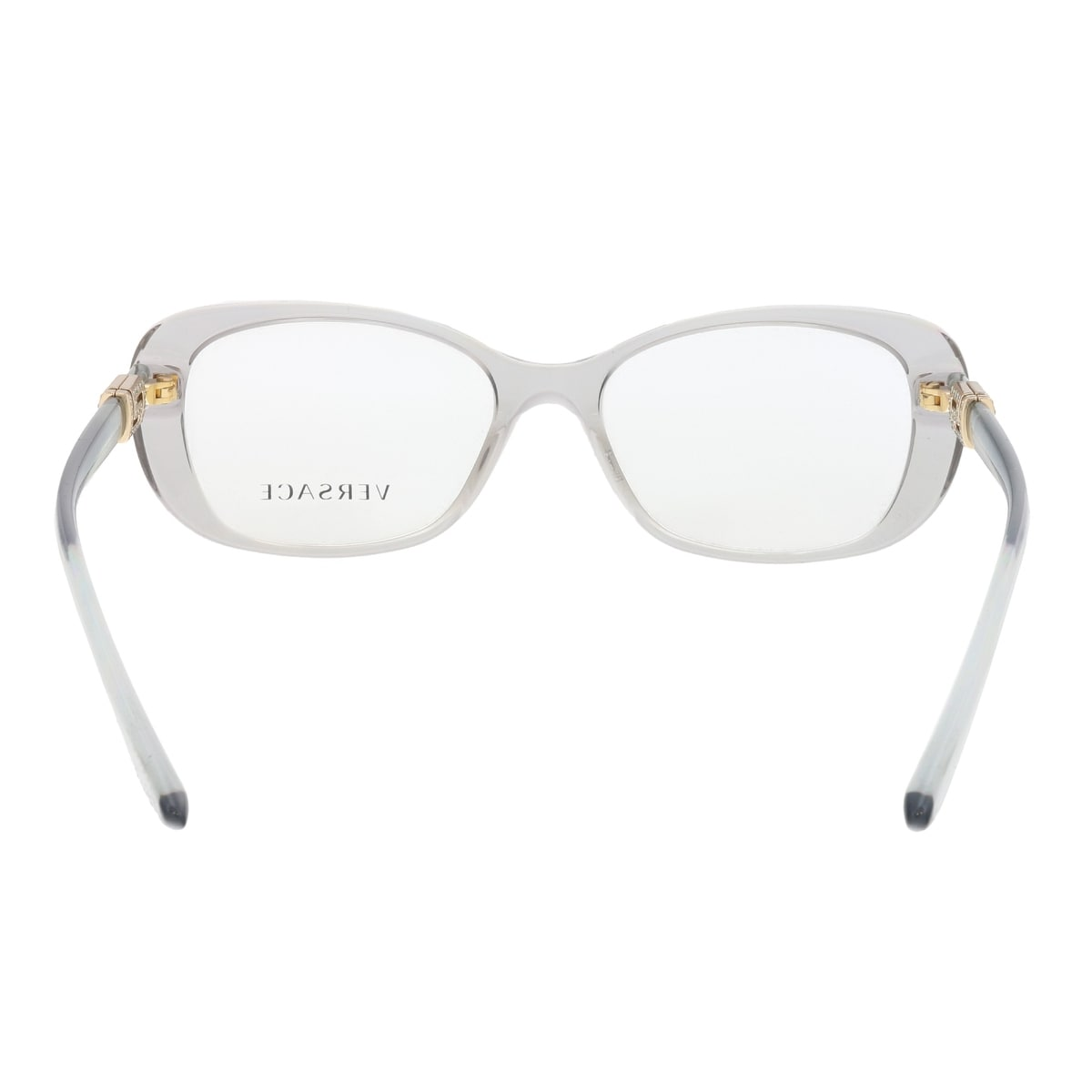 d00ca6350db1 Shop Versace VE3234-B 593 Grey Rectangle Optical Frames - 51-16-140 - Free  Shipping On Orders Over  45 - Overstock.com - 19833176