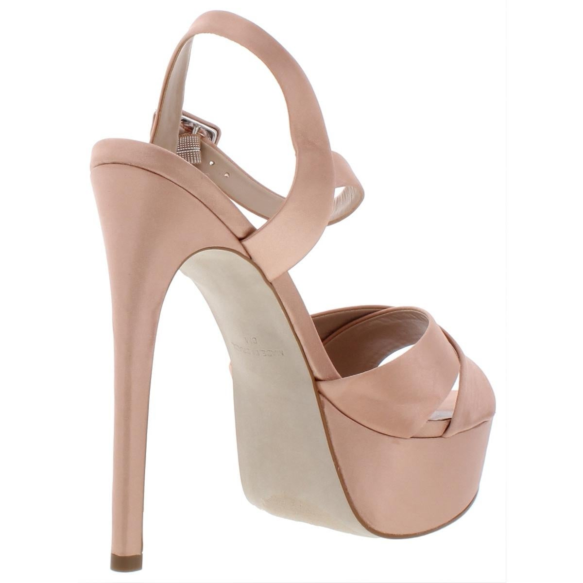 f971502ffc6 Shop Steve Madden Womens Smitten Platform Heels Glitter Stiletto - Free  Shipping Today - Overstock - 27809586