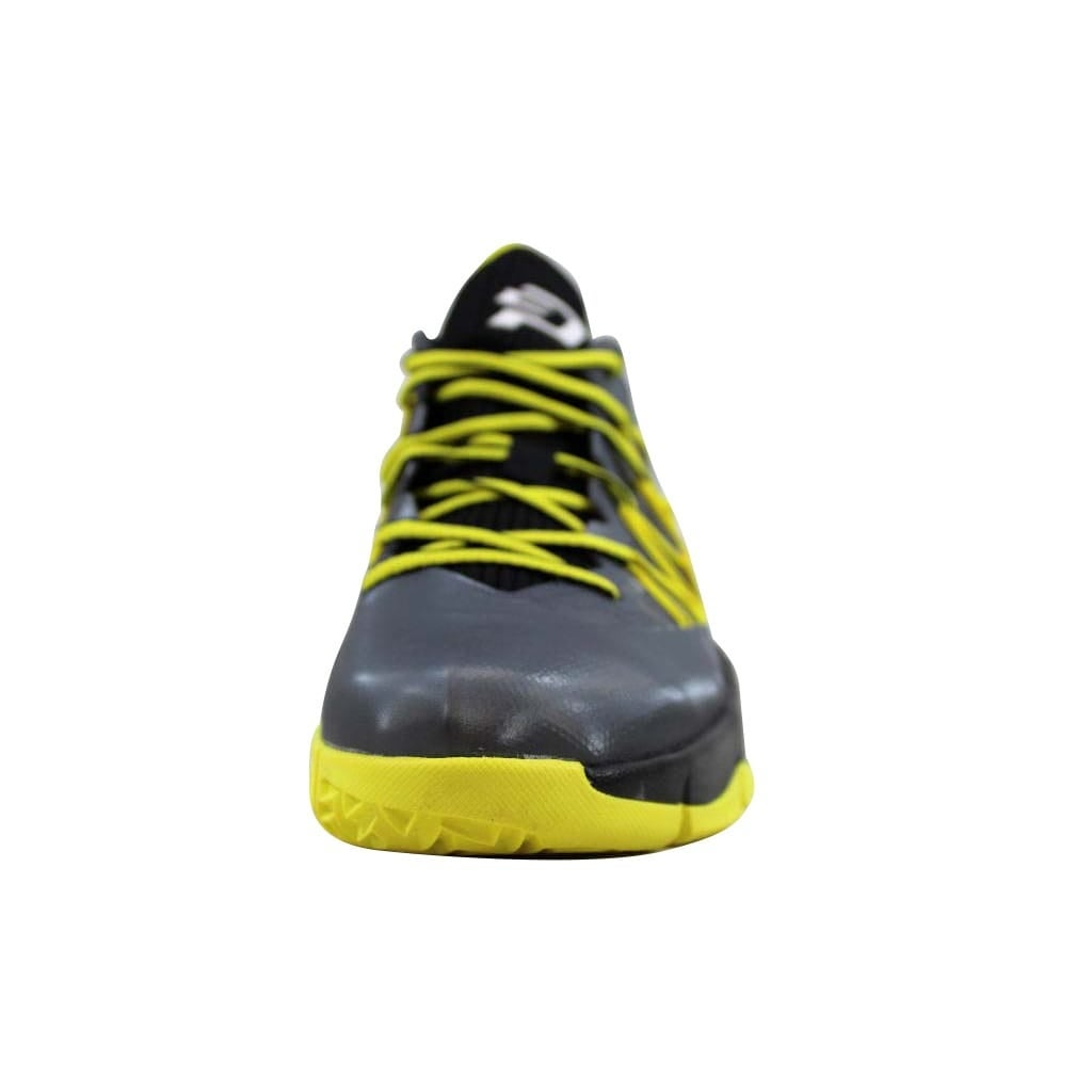 29d5e2d699a24b Shop Nike Grade-School Air Jordan CP3 VII 7 AE BG Dark Grey White-Black-Vibrant  Yellow 654974-070 Size 6.5Y - Free Shipping Today - Overstock - 22531317