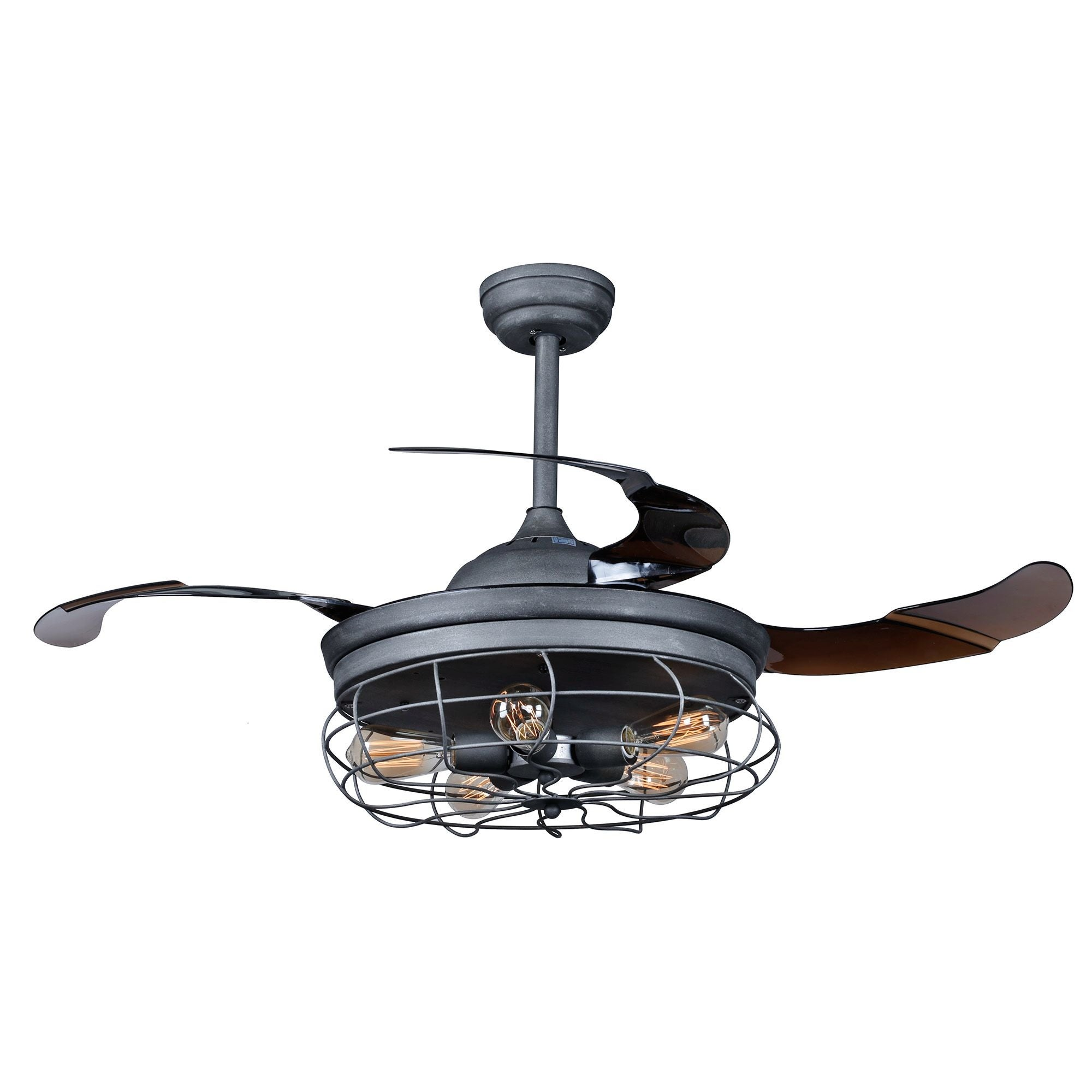 led fan with chrome blades crystal walmart remix ip ceiling neutral retractable light foldable modern com lighting