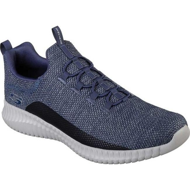 d5693728ba4d Shop Skechers Men s Elite Flex Westerfield Slip-On Sneaker Navy Gray - On  Sale - Free Shipping Today - Overstock - 21225157