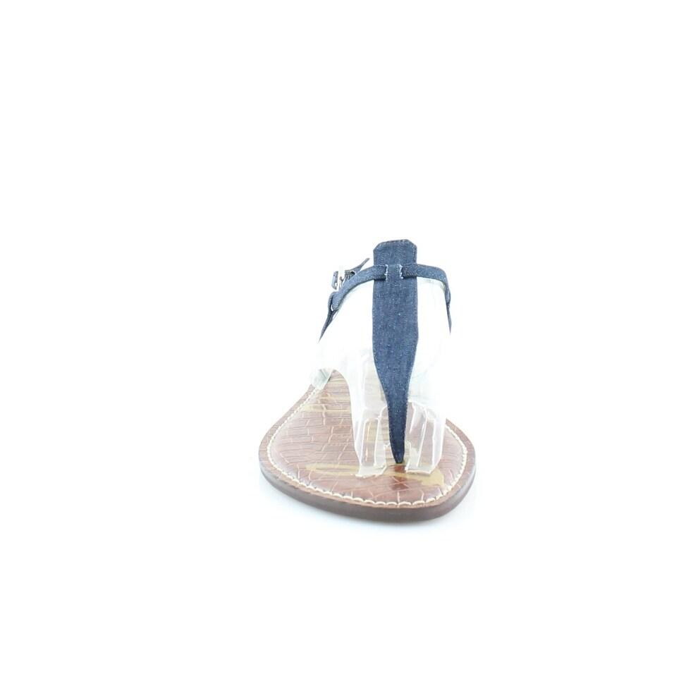 54d89cff9fcc Shop Sam Edelman Gigi Women s Sandals   Flip Flops Navy - Free Shipping On Orders  Over  45 - Overstock.com - 21682449