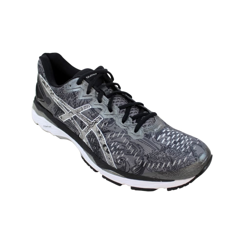 info for 9c571 2bb16 Asics Gel Kayano 23 Lite Show Carbon/Silver-Reflective Men's T6A1N 9793  Size 13 Medium
