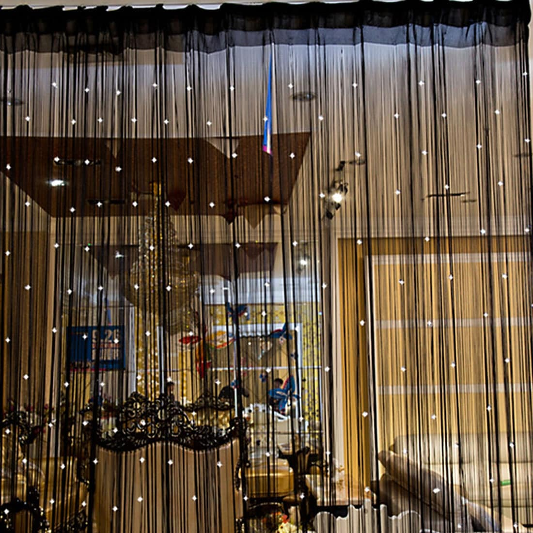 Shop Beaded String Door Window Curtain Fly Screens Room Divider 394