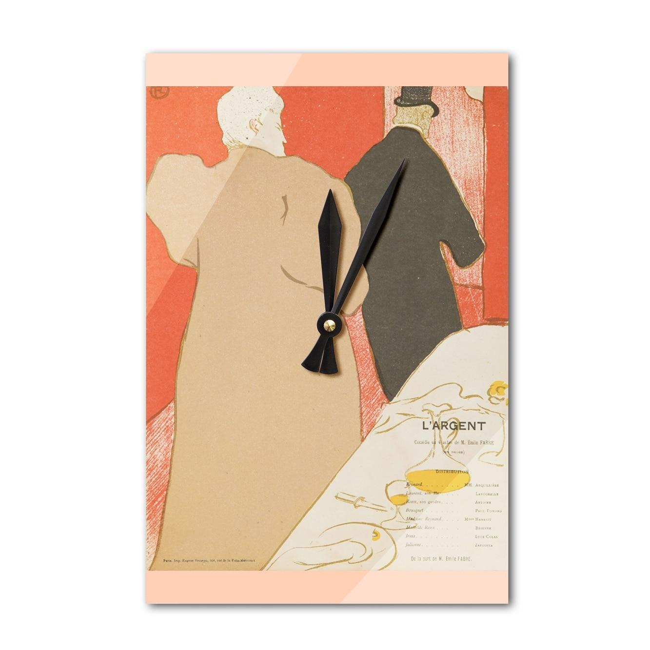 Shop L\'Argent (Toulouse Lautrec) 1895 - Vintage Ad (Acrylic Wall ...