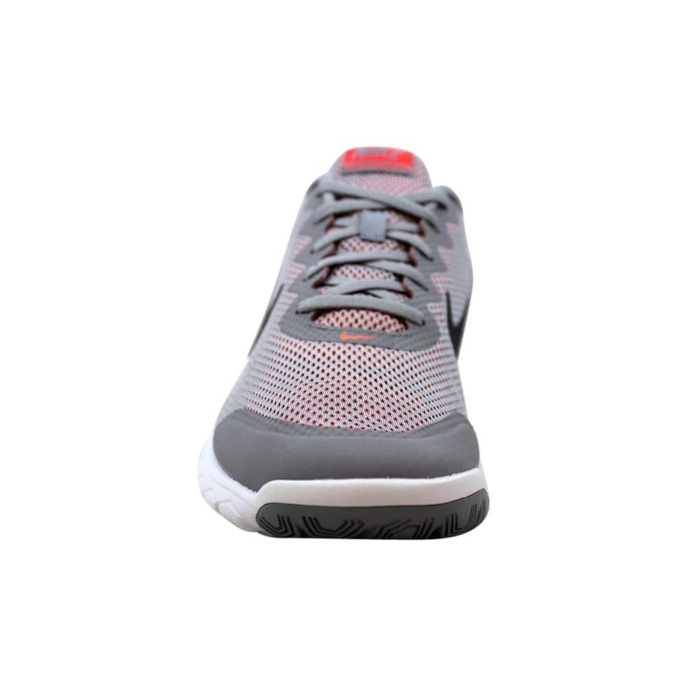 8b53462d7bbf Shop Nike Flex Experience Run 4 Wolf Grey Dark Grey-Hot Lava 749178-009  Women s - On Sale - Free Shipping Today - Overstock - 21893041