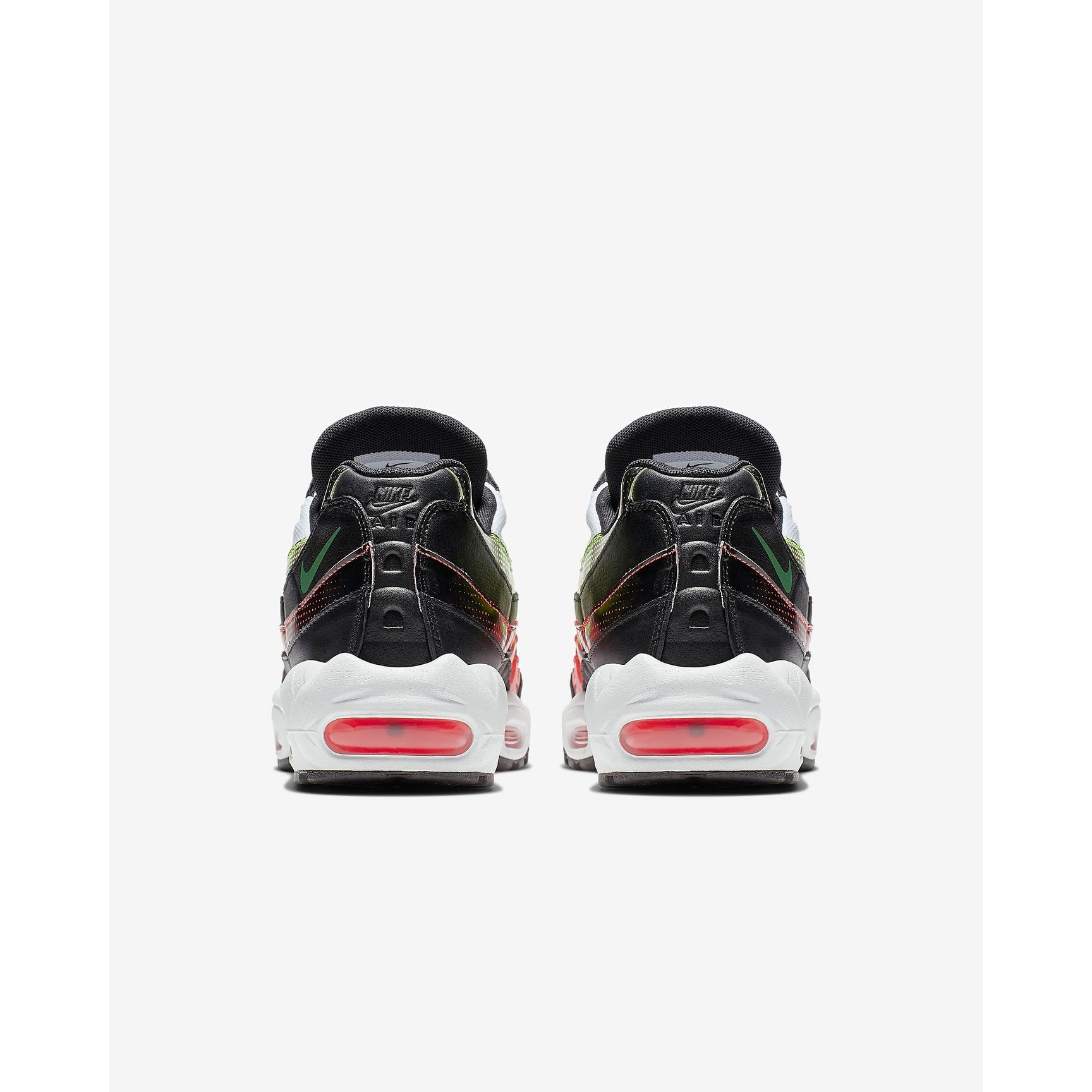 brand new 26cda 2a211 Shop Nike Air Max 95 SE Black Bright Crimson Volt Aloe Verde AJ2018-004 Men  - Free Shipping Today - Overstock - 27995477