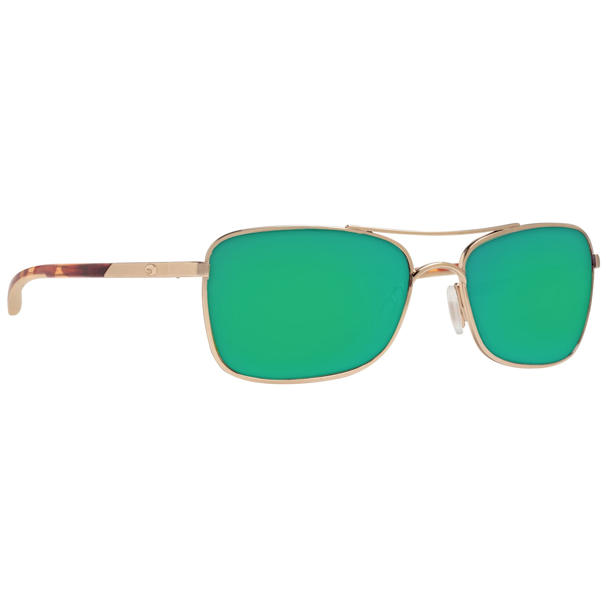 4b34bd0967 Shop Costa del Mar Palapa AP64OGMGLP Rose Gold Green Mirror 580G Polarized  Sunglasses - rose gold   havana brown - 57mm-18mm-130mm - Free Shipping  Today ...