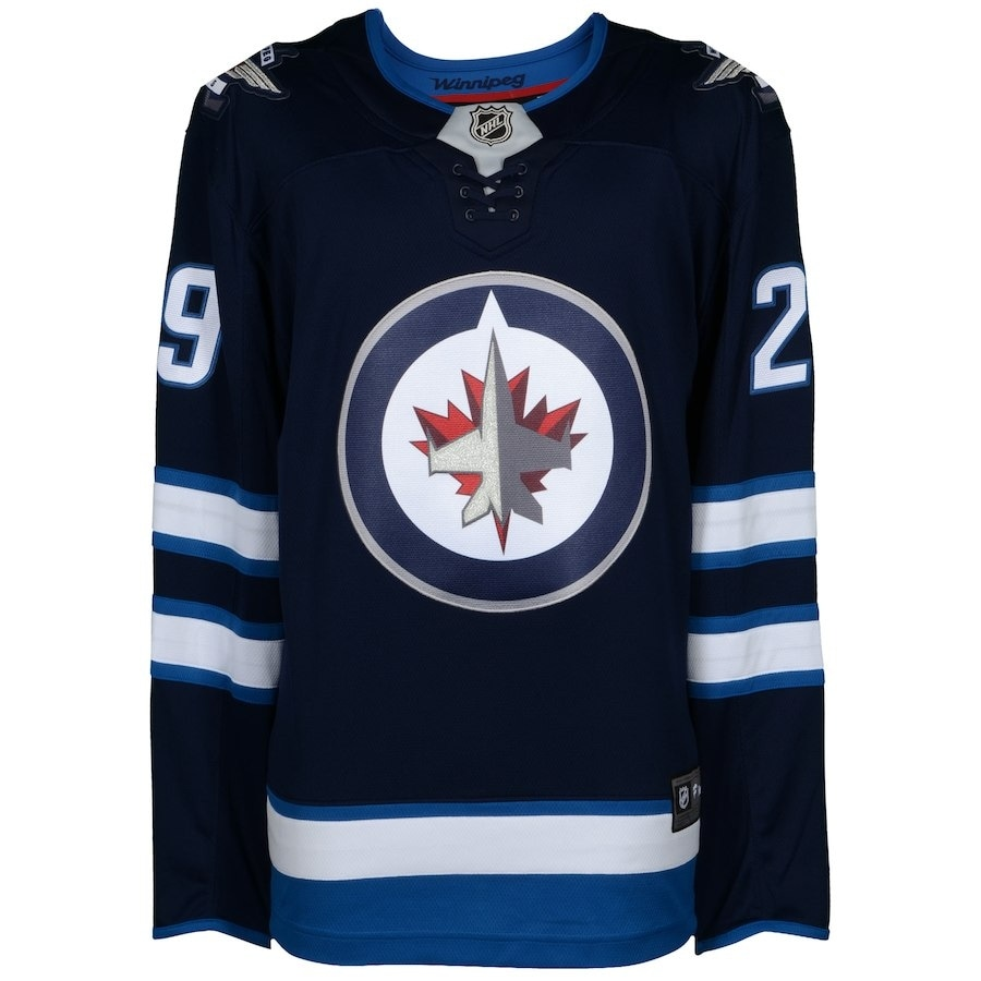 f861612ac84 Shop Patrik Laine Signed Winnipeg Jets NHL Fanatics Break Away Jersey  Fanatics COA - Free Shipping Today - Overstock - 25677706