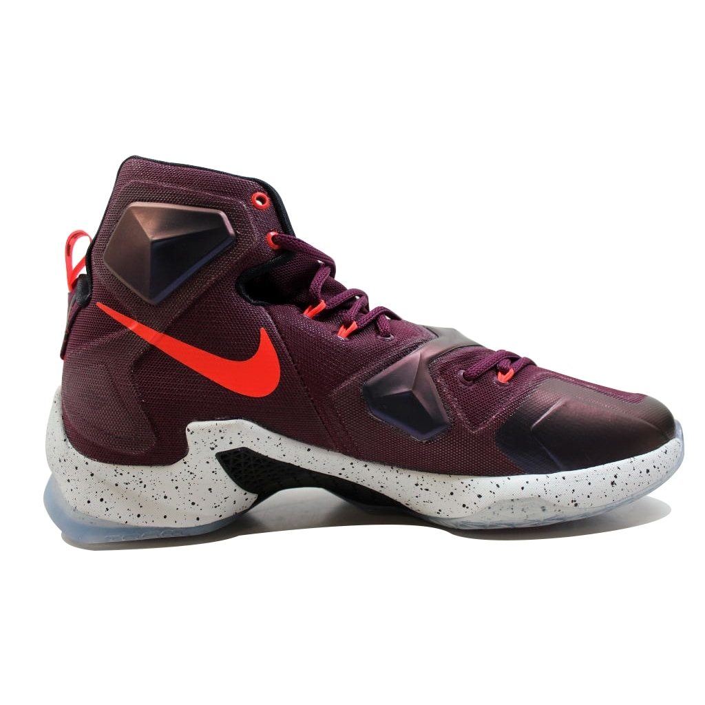 6e31f1d3734 Shop Nike Men s Lebron XIII 13 Mulberry Black-Pure Platinum-Vivid Purple  Written In The Stars 807219-500 - Free Shipping Today - Overstock - 20129315