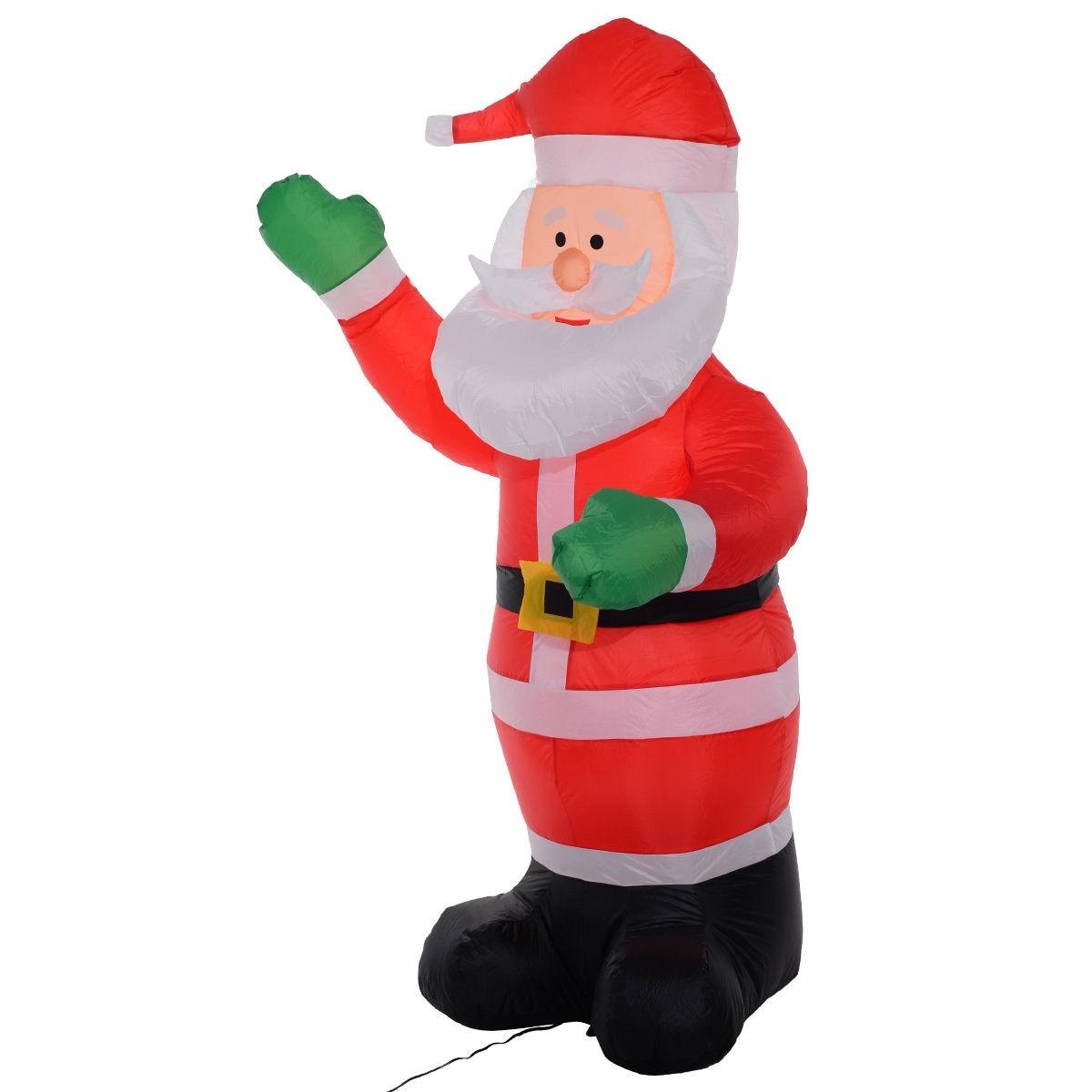 Shop Costway 6 Ft Airblown Inflatable Christmas Xmas Santa Claus ...
