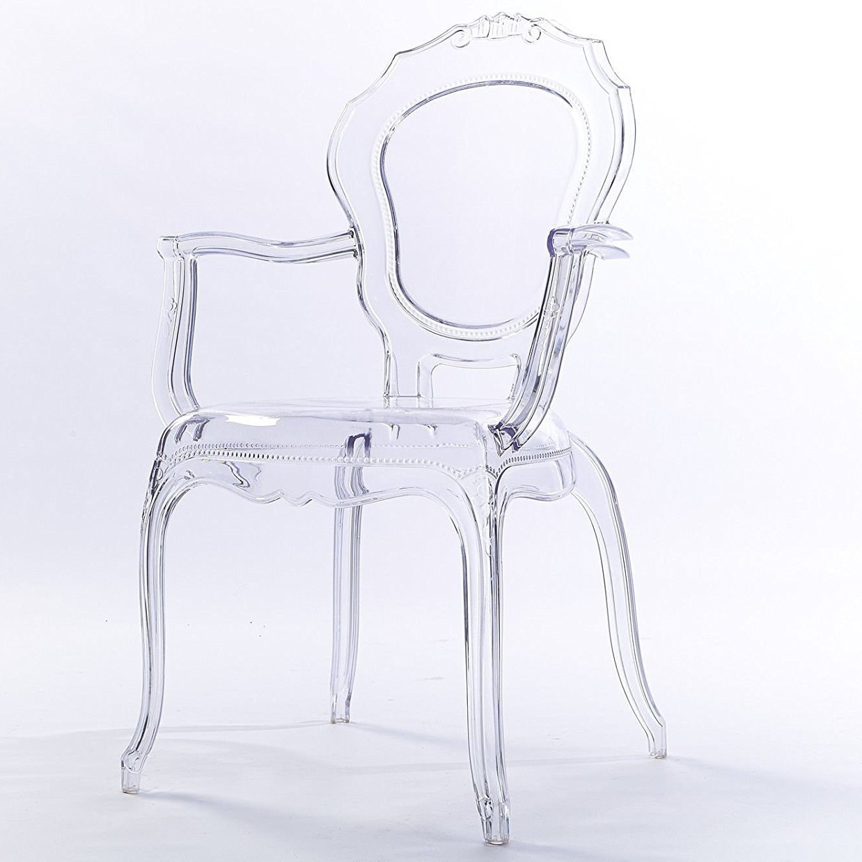 Shop 2xhome Clear Plastic Dining Chairs Modern Design Home Designer Chair Acylic  NA On Sale Free Shipping Today Overstockcom 18527034