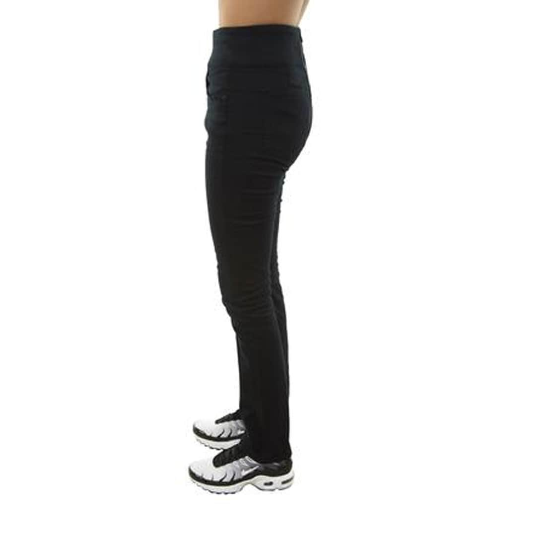 0967ad36210d3f Shop SPANX The Signature Straight High Rise Side Zip Straight Leg Jeans,  Very Black, 27 - Free Shipping Today - Overstock - 28362209