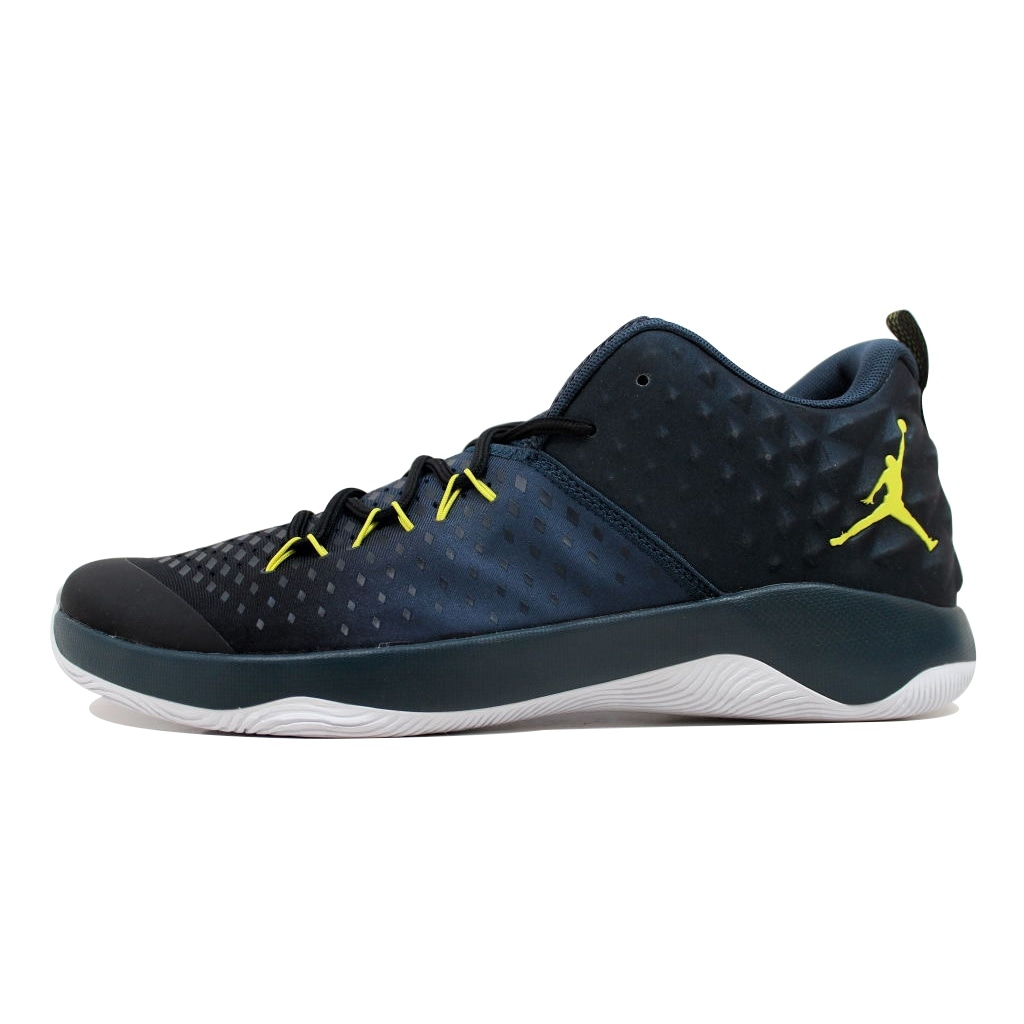 free shipping b12b1 28530 Shop Nike Men s Air Jordan Extra Fly Black Electrolime-Armory Navy  854551-014 - Free Shipping Today - Overstock - 20130142