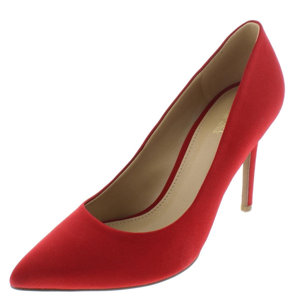 6bd4960d1d576 Shop MICHAEL Michael Kors Womens Claire Evening Heels Satin Almond ...