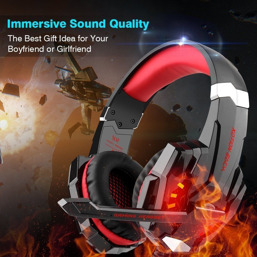Shop Each G9000 Stereo Gaming Headsets Headphone For Ps4 Xbox One