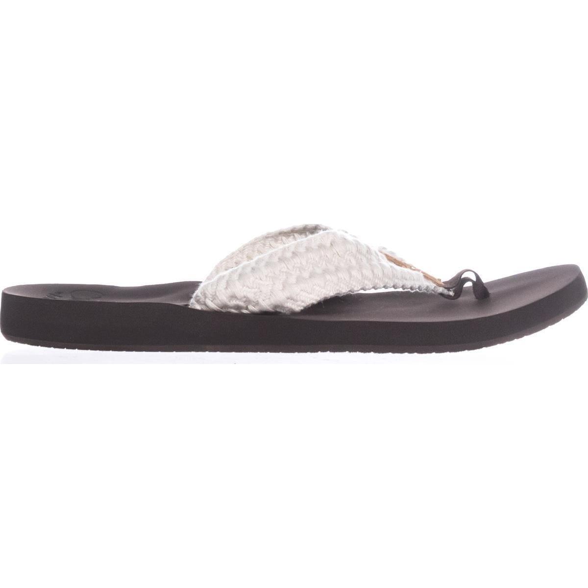 0c7b0dd9a655 Shop Reef Cushion Threads Knit Flip Flops