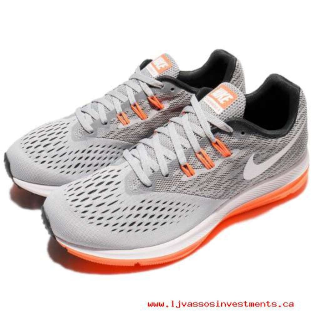 6114256ed6ba Shop Nike Mens Nike Zoom Winflo 4 Mens Low Top Lace Up Trail Running Shoes  - 11.5 - Free Shipping Today - Overstock - 25980321