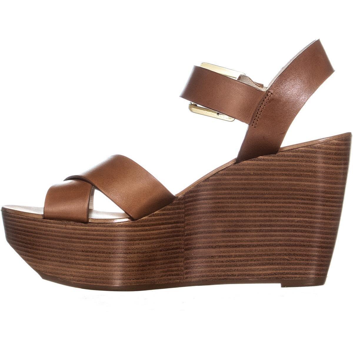 f20d1ef0ef4c Shop Michael Kors Peggy Wedge Ankle Strap Sandals