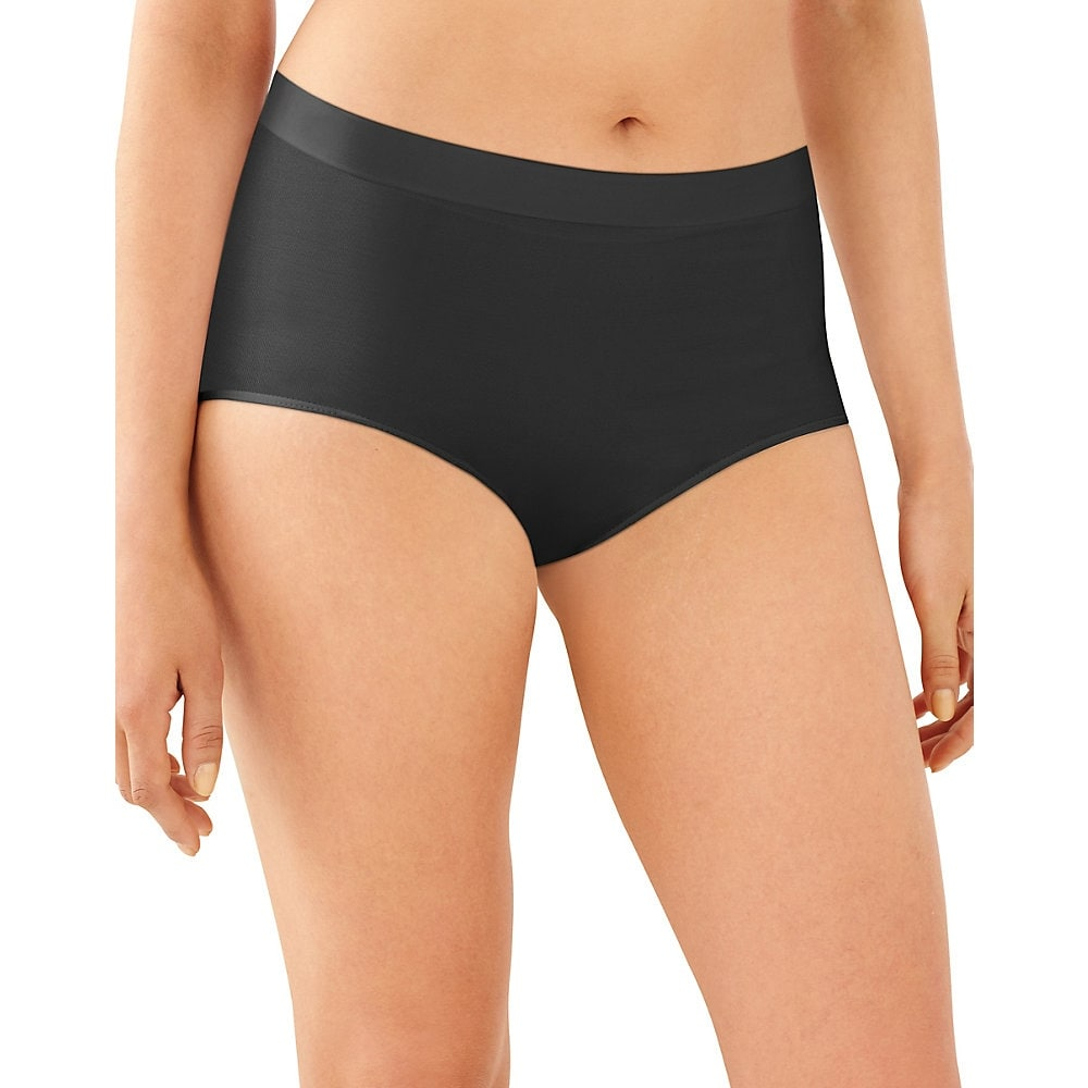 3cc6f7877 Bali One Smooth U All-Around Smoothing Hi-Cut Panty - Size - 9 - Color -  Black