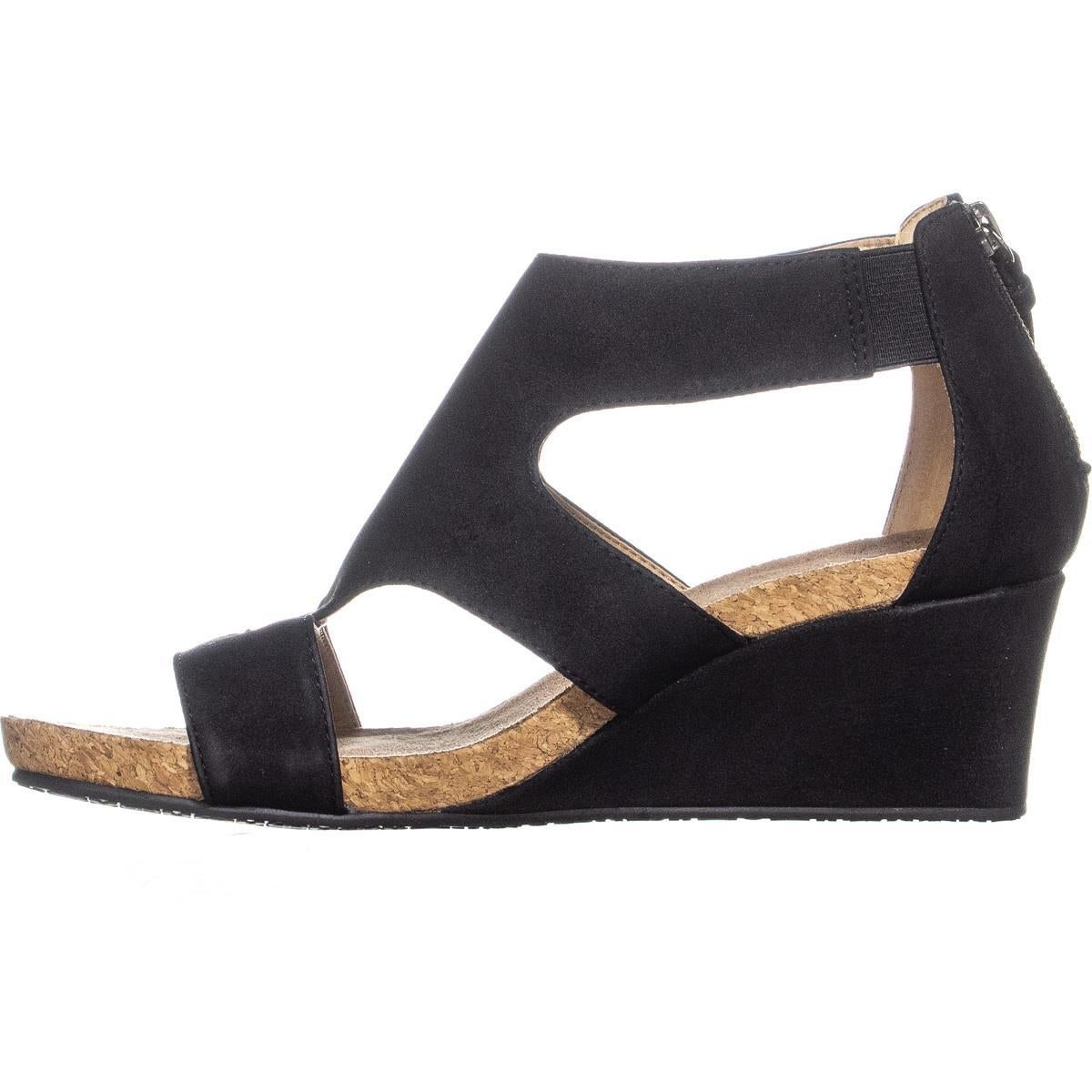 5fe992729d8 Shop Adrienne Vittadini Tricia Wedge Sanals