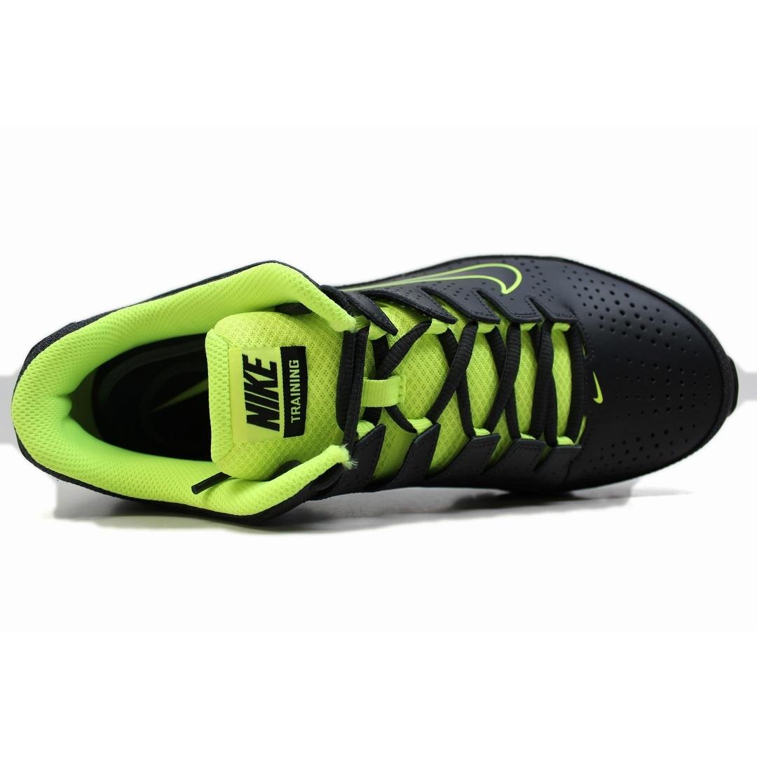 fa6d7135ecbb Shop Nike Men s Reax 8 TR Anthracite Black-Volt 616272-036 - Ships To Canada  - Overstock - 20129328