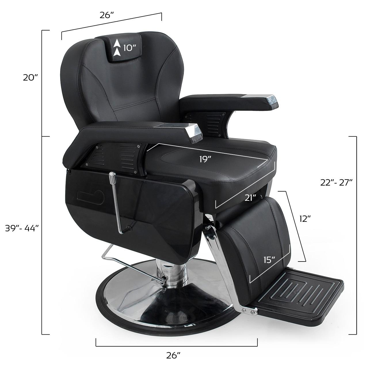 Bellavie Deluxe Hydraulic Barber Chair Overstock 15893317