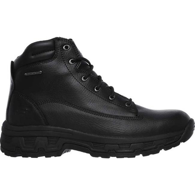 932552db1ad51 Shop Skechers Men's Relaxed Fit Morson Sinatro Hiking Boot Black - On Sale  - Free Shipping Today - Overstock - 19474272