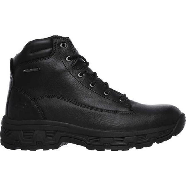 Skechers Men's Relaxed Fit Morson Sinatro Hiking Boot Black