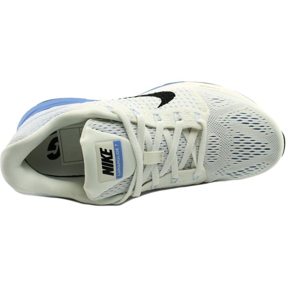 online store 1a087 da92e Shop Nike Lunarglide 7 Women Round Toe Canvas White Running Shoe - Free  Shipping Today - Overstock - 14057485