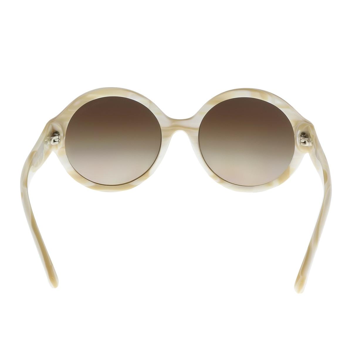 664ddedc20 Shop Michael Kors MK2035 320813 SEASIDE GETAWAY Marble Ivory Round Phantos  Sunglasses - 55-19-135 - Ships To Canada - Overstock - 18182566