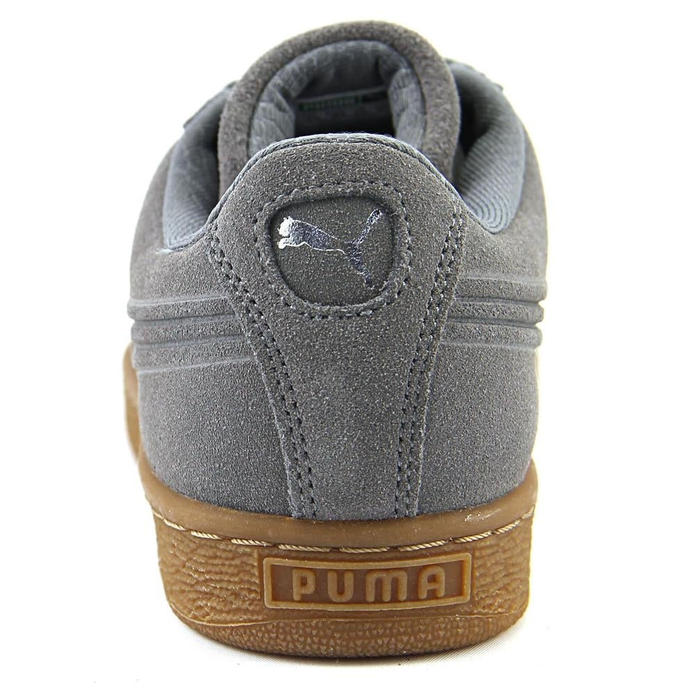 low priced 22840 bf20f Shop Puma Suede Classic Debossed Q4 Jr Youth Round Toe Suede Gray Sneakers  - Free Shipping Today - Overstock - 18955722