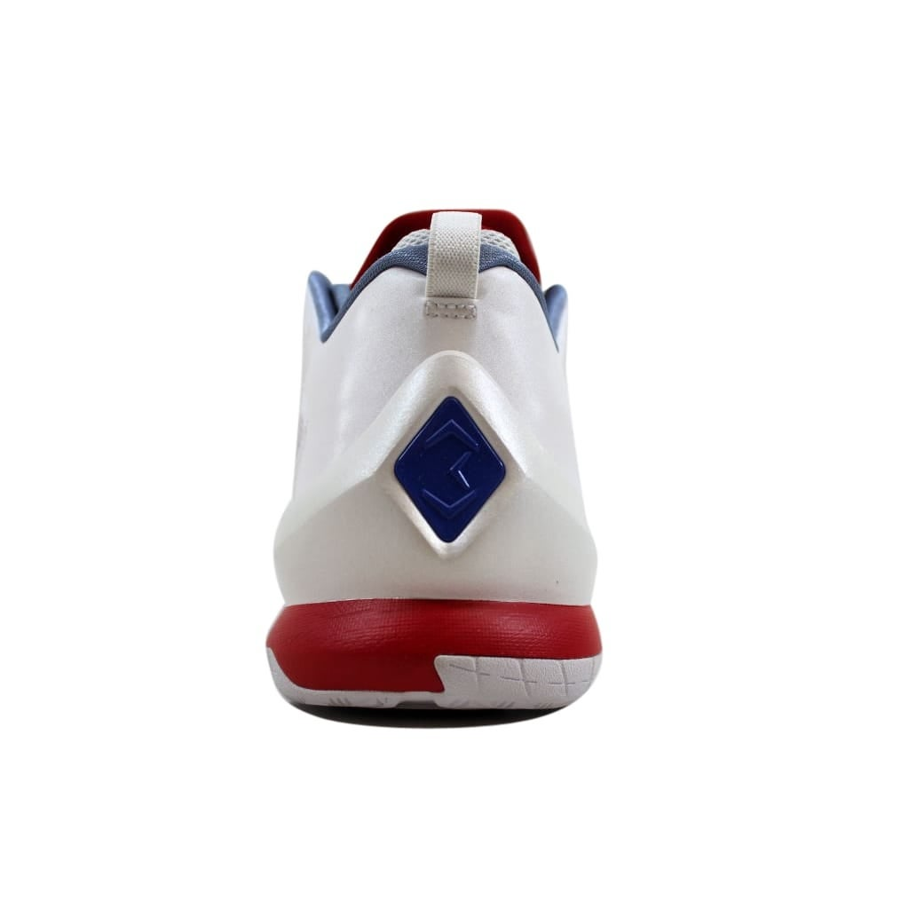 32578894669a Shop Nike Men s Air Jordan CP3 VIII 8 AE White Game Royal-Sport Red-Cool  Blue725173-107 - Free Shipping Today - Overstock.com - 24014982