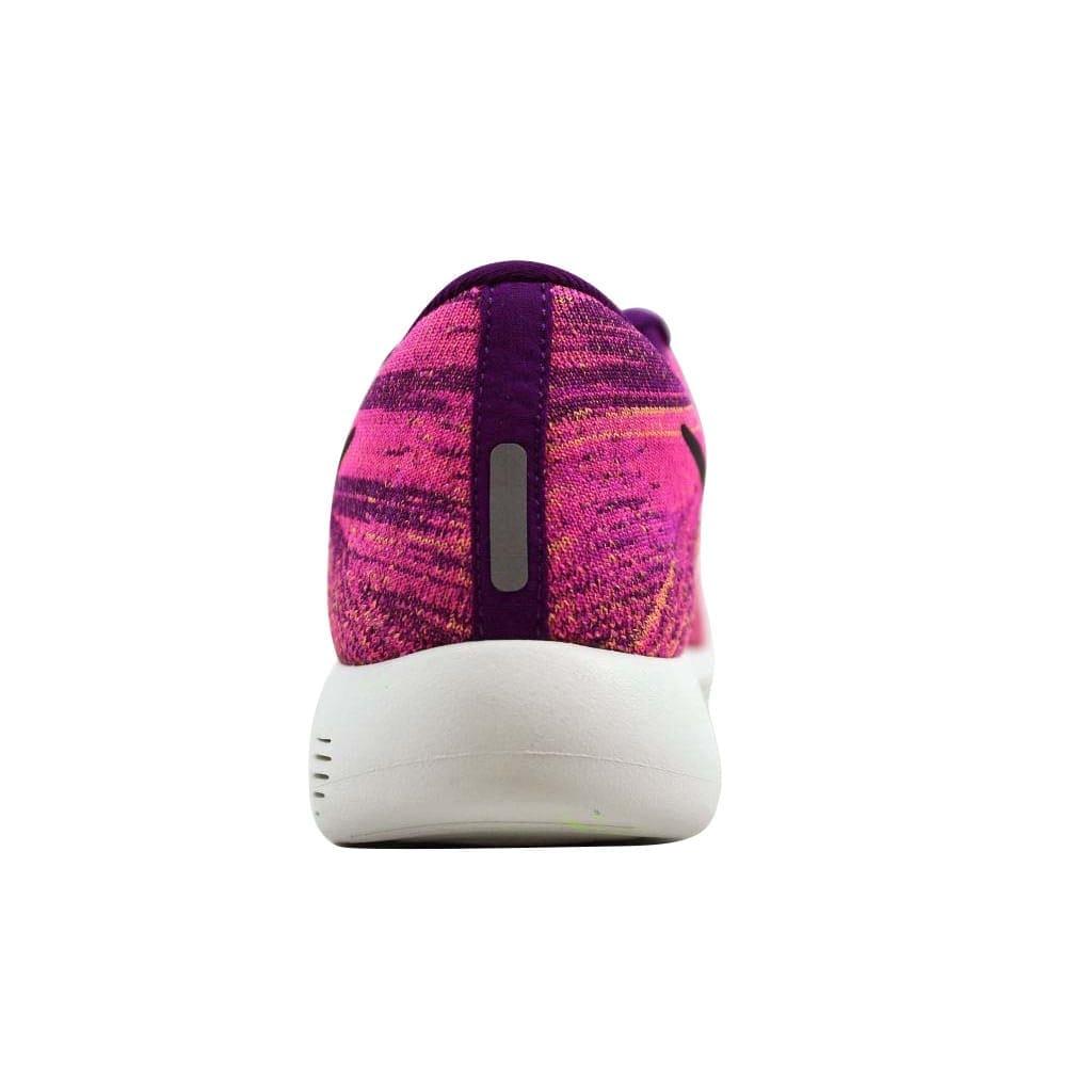 on sale bd8b4 652e0 Nike Women's Lunarepic Low Flyknit Bright Grape/Black-Fire Pink 843765-500