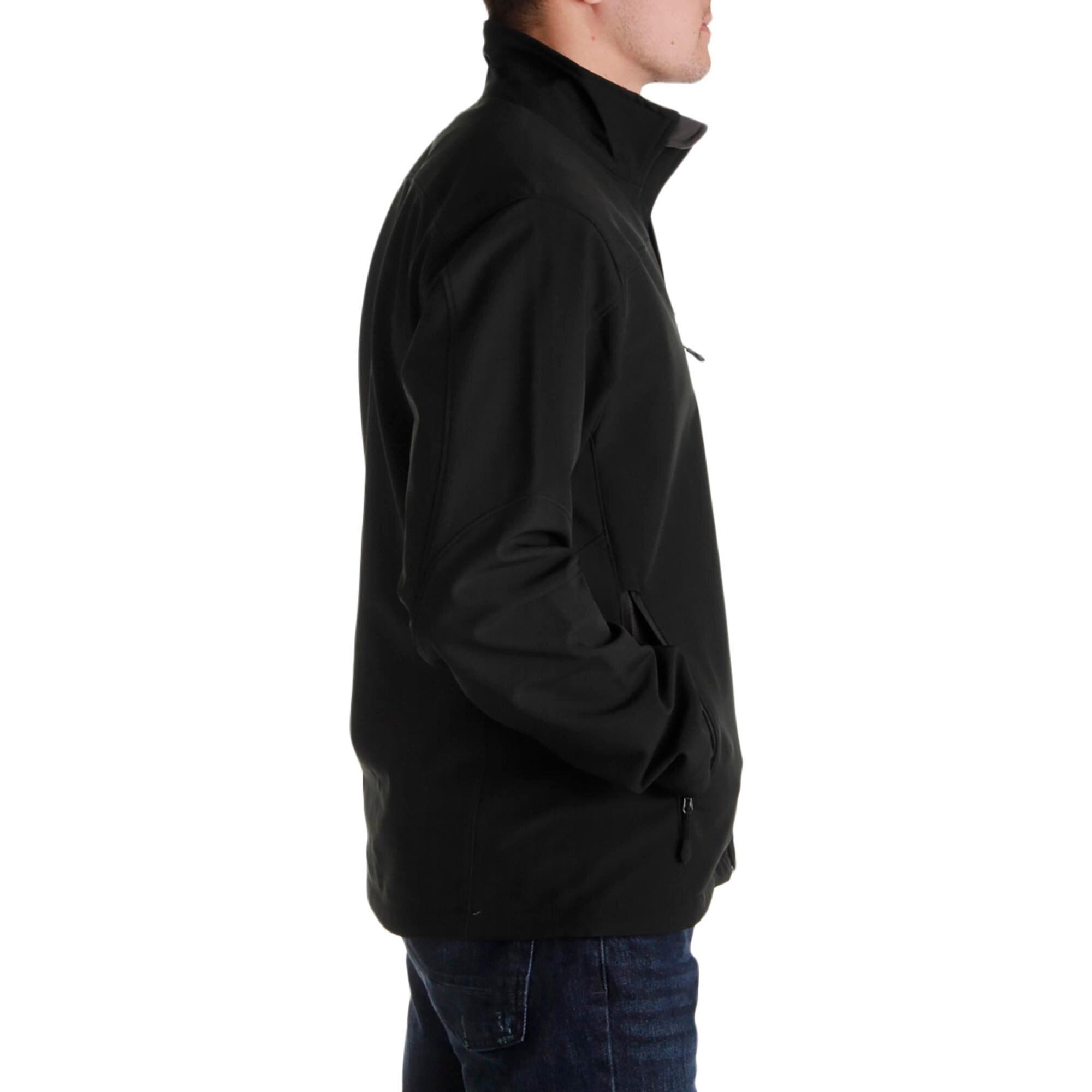 Tahari Men/'s Water Repellent Performance Soft Shell Jacket Coat
