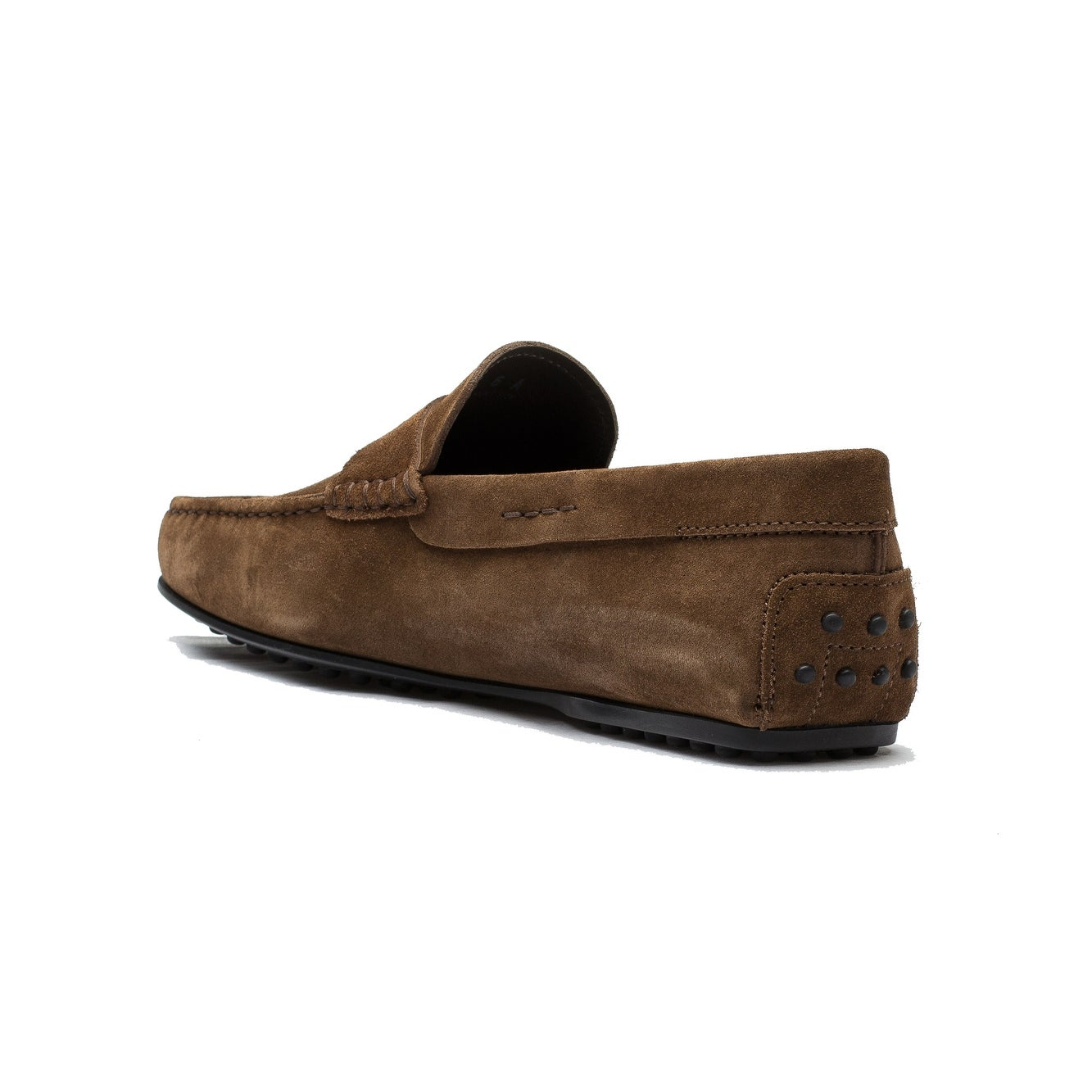 197bc4456c3 Shop Tod s Men s Suede Moccasins City Gommino Loafer Shoes Brown - Free  Shipping Today - Overstock - 13759596