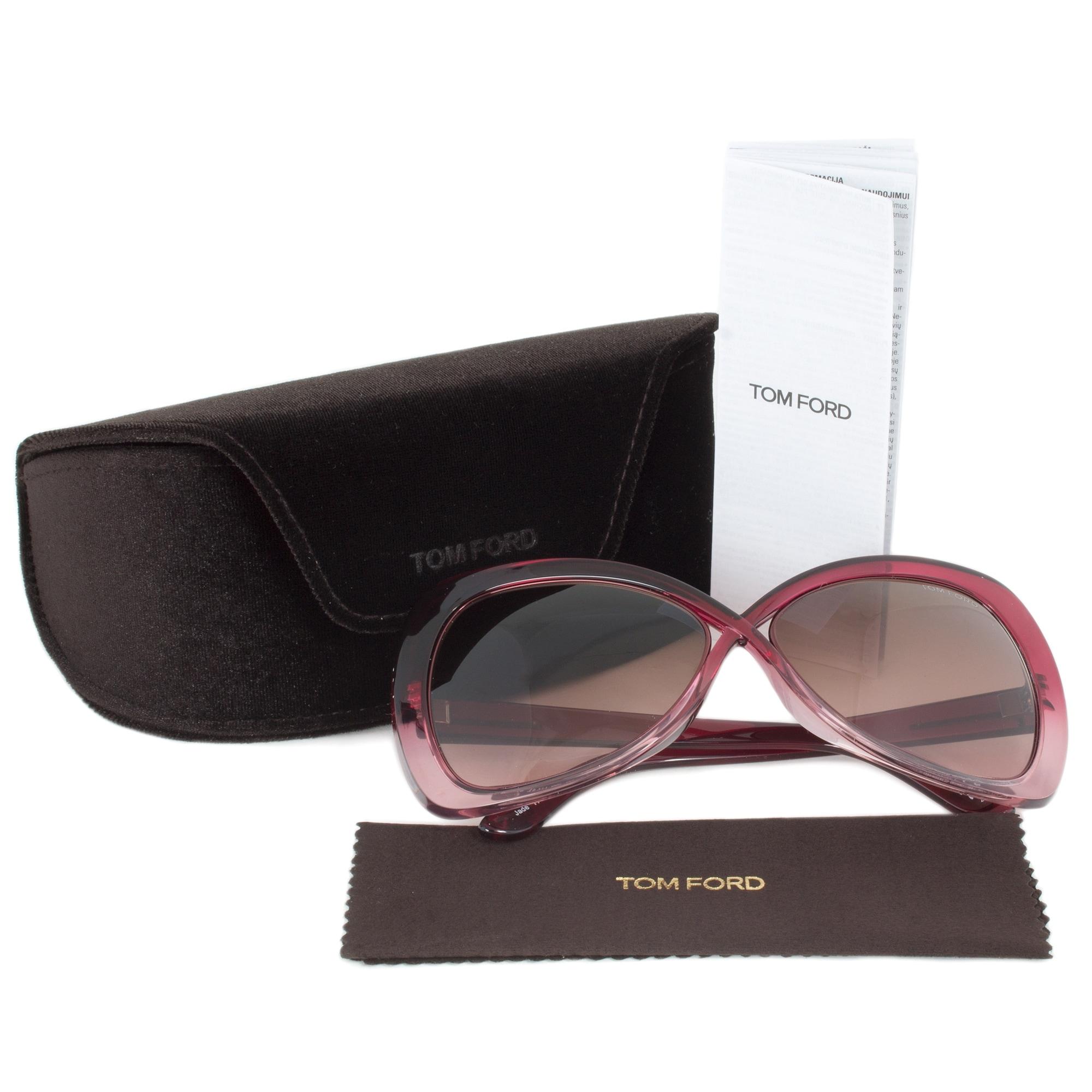 56bc88101a Shop Tom Ford FT0277 68F Jade Sunglasses
