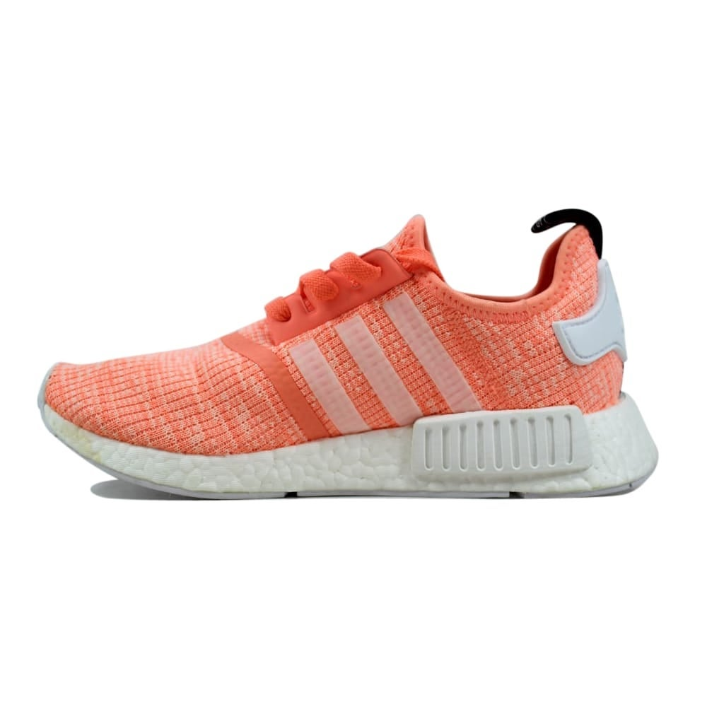 8a814942bff26 Shop Adidas NMD R1 W Sun Glow White-Coral Women s BY3034 Size 7.5 Medium -  On Sale - Free Shipping Today - Overstock - 27339186