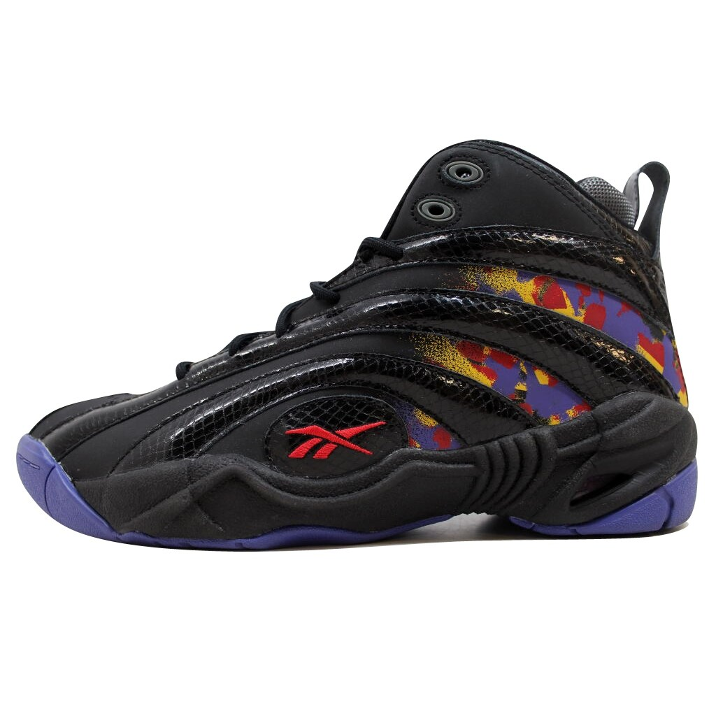 Reebok Men's Shaqnosis OG Black/Purple-Yellow-Red Escape From LA V61028 -  Free Shipping Today - Overstock.com - 25561180