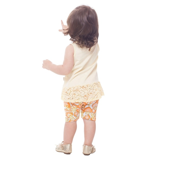 93b0cd48b Shop Pulla Bulla Baby Girl Outfit Sleeveless Shirt Top and Shorts ...