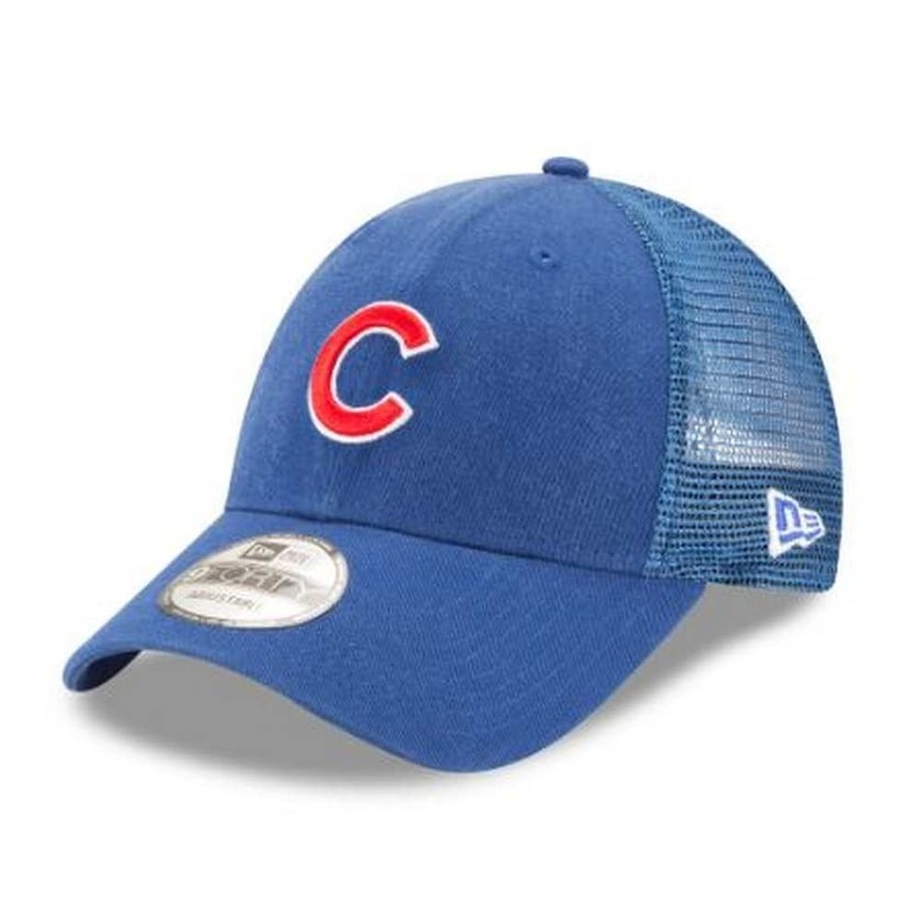 Shop New Era MLB Chicago Cubs Trucker 9Forty Adjustable Baseball Hat 940  11591211 - Free Shipping On Orders Over  45 - Overstock - 21425227 c38c4fde547