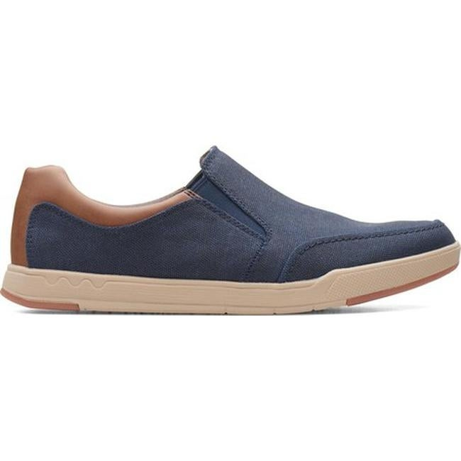 048a94ff56807 Shop Clarks Men s Step Isle Slip-On Navy Canvas - On Sale - Free Shipping  Today - Overstock - 24268016