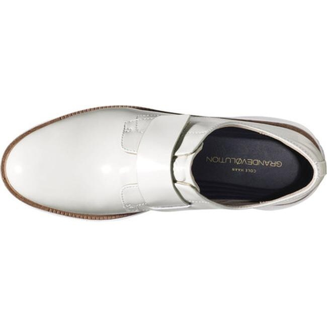 bec3f014152 Shop Cole Haan Women s GrandEvolution Modern Monk Optic White Leather Optic  White - Free Shipping Today - Overstock - 18180744