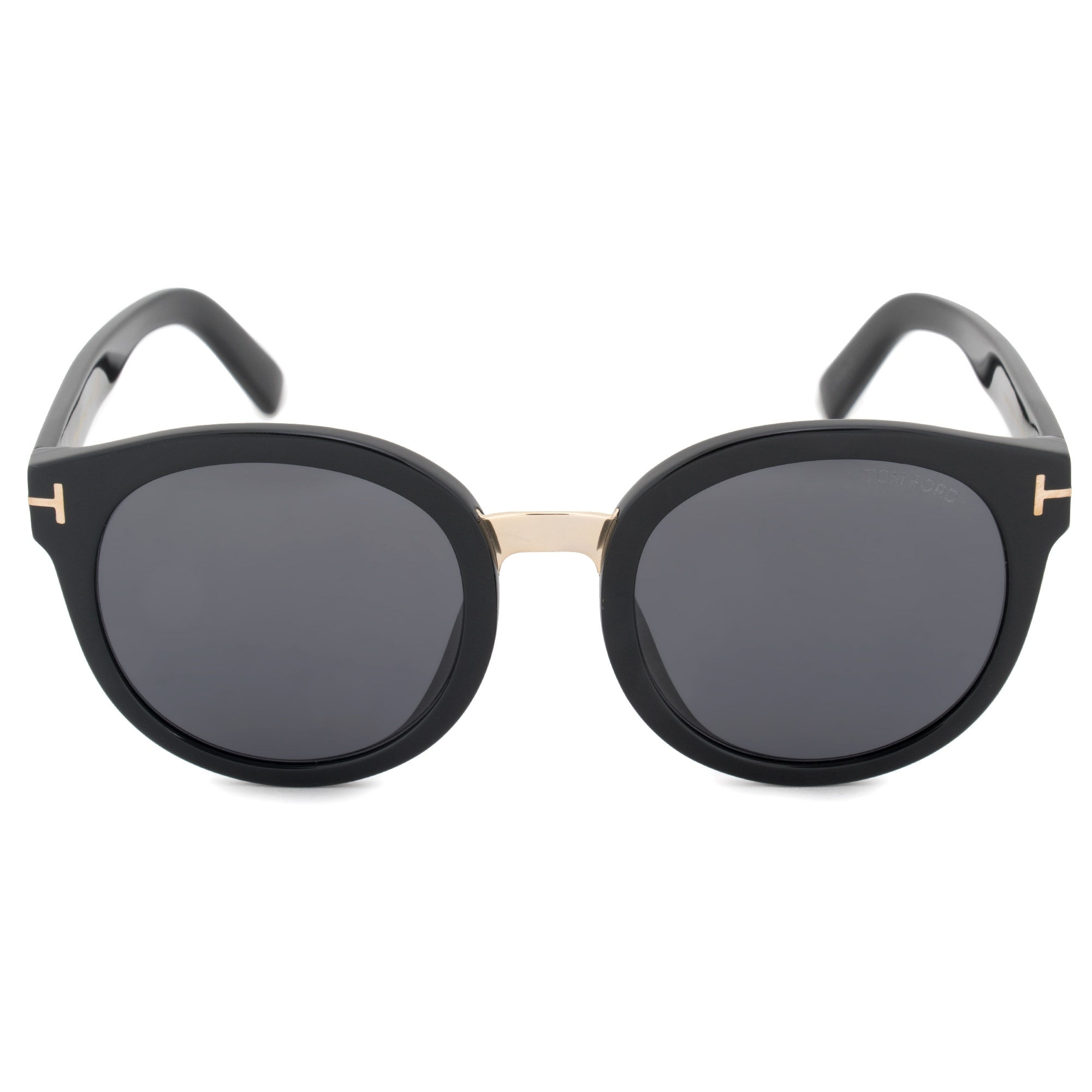 09d18817a9a Image Unavailable Source · Shop Tom Ford Round Sunglasses FT0478 01A 54  Free Shipping Today