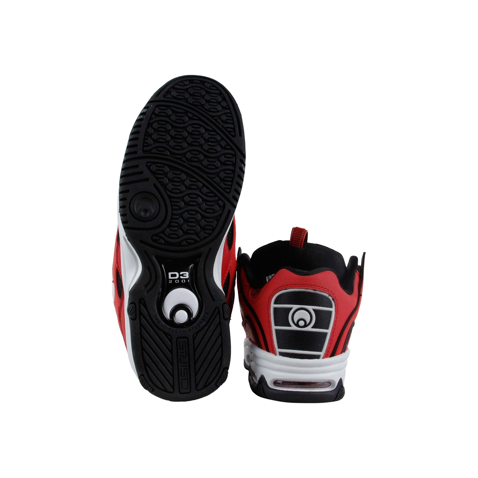 a88fd2aa45 Shop Osiris D3 2001 Mens Red Synthetic Athletic Lace Up Training Shoes - Free  Shipping Today - Overstock - 20109828