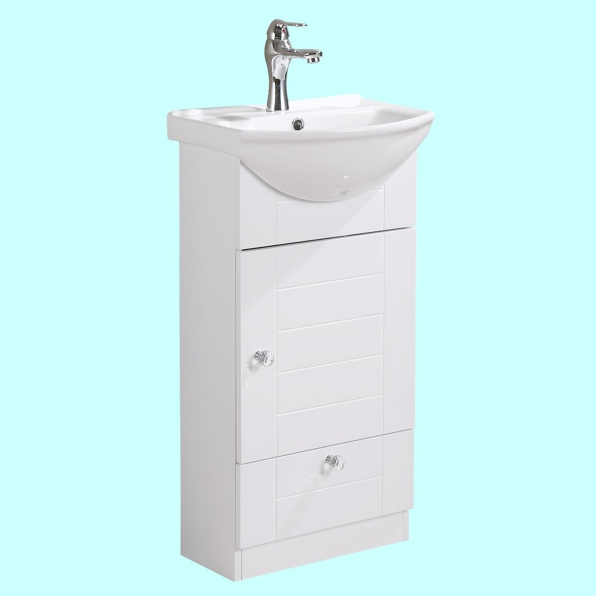 Shop Renovator\'s Supply Vitreous China Small Bathroom Vanity Sink ...