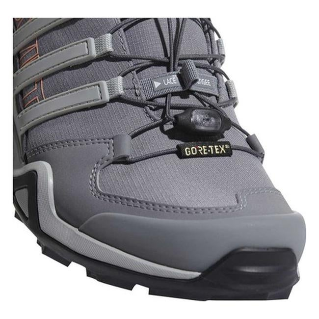 5b58a4d397368 Shop adidas Women s Terrex Swift R2 GORE-TEX Hiking Shoe Grey Three Grey Two  Chalk Coral - Free Shipping Today - Overstock - 19739001